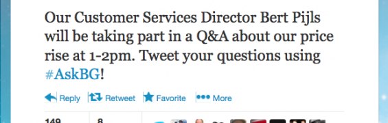 British Gas Twitter Q&A
