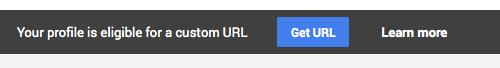 Google+ Get URL